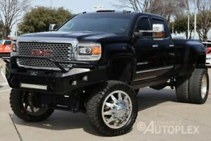 2015 GMC Sierra 3500  Denali 8 Inch FTS Lift 24 Inch American Force Wheels