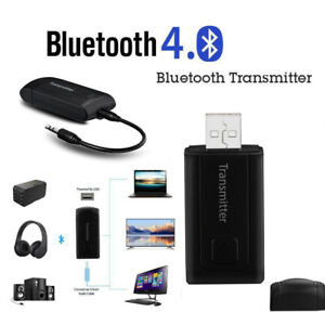 Wireless Bluetooth Transmitter Stereo Audio Music Adapter for TV Phone PC Y1X2