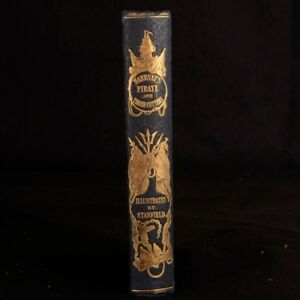 1851 The Pirate and The Three Cutters Illustrated Second Edition Captain Marryat