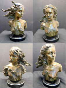 Frederick Hart The Muse Suite Music Dance Theater Poetry Bronze Sculptures x4 $85900.00