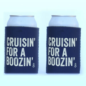 Stubby holder funny Cruisin for a Boozin 2 Pack Perfect for epic parties AU $9.95