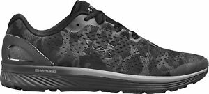 Under Armour Charged Bandit 4 Mens Running Shoes Black Camo Trainers UK9 10 10.5