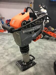 New Husqvarna LT 5005 Rammer Soil Compactor with Honda GXR 120 Engine Tamping