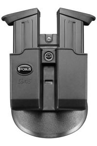 FOBUS TACTICAL PADDLE HOLSTER POUCH MAGAZINE HOLDER 45 DOUBLE STACK EXCEPT GLOCK