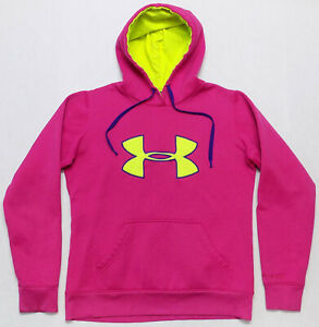Under Armour Womens Pink Storm Cold Gear Hoodie Size Small $23.95