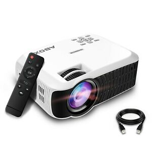 ABOX T22 Upgraded 2400 Lumens Portable LCD Video Projector