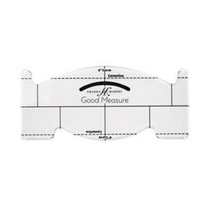 Good Measure Every Feather Spine 1 4quot; Thick Machine Quilting Ruler $24.99
