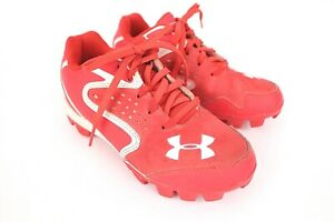 Under Armour Red Youth Cleats Size 13K $19.00