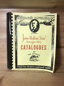 James Heddon's Sons Catalogues by The Bassman RARE!!