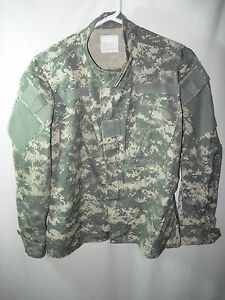 NEW US MILITARY ISSUE ACU DIGITAL CAMO COMBAT JACKET SIZE SMALL X SHORT 46