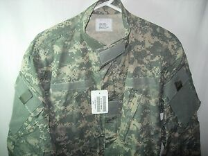 NEW US USA MILITARY ISSUE ACU DIGITAL CAMO COMBAT JACKET SIZE LARGE SHORT 52