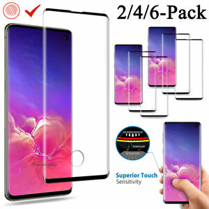For Samsung Galaxy S10 PlusS10S10e Full Cover Tempered Glass Screen Protector