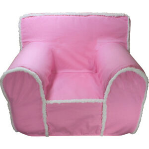 INSERT FOR ANYWHERE CHAIR WITH PINK WITH SHERPA TRIM COVER REGULAR