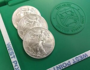 THREE (3) 2019 American Silver Eagle Sealed Monster Boxes - 1500 oz - FREE Ship