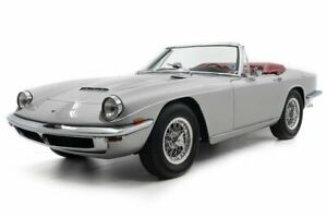 1968 Mistral 4000 Spider -- 1968 Maserati Mistral 4000 Spider Silver Metallic with 38432 Miles available no