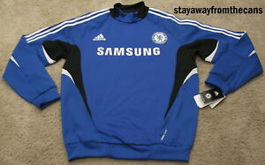 Chelsea FC 2012 Team Issue Dri Fit Training Jersey Kit Shirt Men L Large 4446