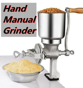 Hand Manual Grinder Crusher Mill Machine Tool Iron Corn Grain Wheat