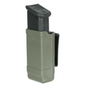 Blackhawk OD Green Double Stack Single Magazine Mag Case w/ Clip Fits 9/.40 40
