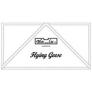 Bloc Loc 3quot; x 6quot; Flying Geese Square Up Ruler $24.30