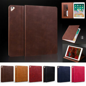 For iPad Air 12 5th6th Gen 9.7 mini 1234 Ultra thin Leather Smart Case Cover