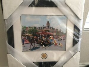 Disney Party Trolley White Rabbit Wart Bad Wolf Ferdinand Framed Pin Set LE 50