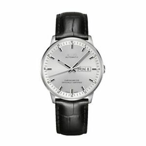 Mido M0214311603100 Commander Mens Watch - Silver Dial Stainless Steel Case Auto