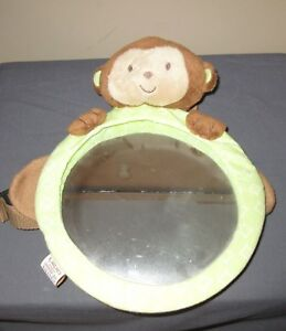 Carters Monkey Car Back Seat Infant Baby Mirror