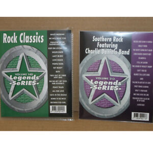 KARAOKE CD+G Legends Rock Classic+Southern Rock vol-140+213 NEW IN Plastic