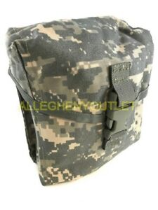 US Military SAW GUNNER POUCH - 200 Round - MOLLE Utility Pouch ACU Digital VGC