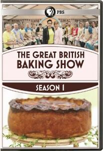 THE GREAT BRITISH BAKING SHOW TV SERIES COMPLETE SEASON 1 New Sealed 3 DVD Set