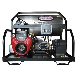 Simpson SB3555 Super Brute Professional 3500 PSI (Gas-Hot Water) Pressure Was...