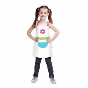 Little Chef Cook Baking Food Kitchen Girls Birthday Party Favor Plastic Aprons