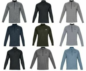 Under Armour 1328495 Mens UA Tech 2.0 1 2 Zip LS Tee Shirt Long Sleeve T Shirt $35.99