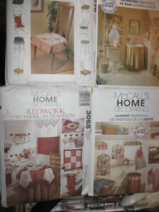 Pattern sewing New Kitchen Bathroom CHAIR COVERS Laundry Accessories OOP $5.89