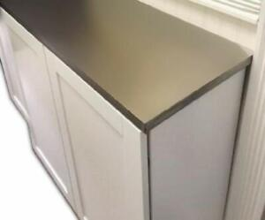 Satin Stainless Steel No Contact Paper Peel and Stick Appliance Covering