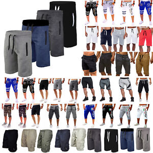 Men Gym Sport Fitness Shorts Summer Casual Jogging Sweat Pants Workout Trousers