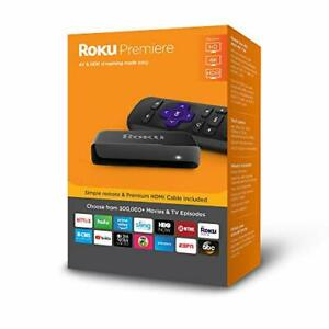 Roku Premiere Version HD4KHDR Streaming Media Player WRemote