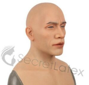 SILICONE MALE MASK DISGUISE LATEX REALISTIC RUBBER REAL LIFE LIKE SPFX MASK
