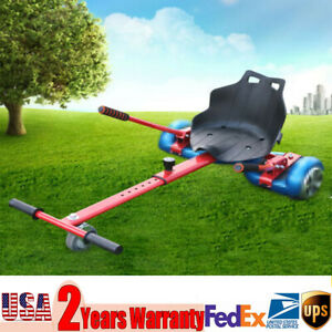 200lbs Cart Padded Seat Car Holder Sets with Handles for Balancing Scooter NEW