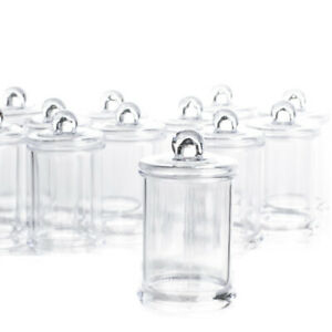 Miniature Clear Apothecary Jars