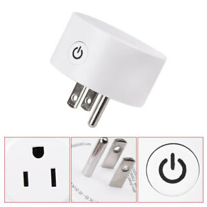 Mini Wifi Smart Socket Phone Timing Switch Remote Control US Plug Outlet Socket