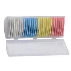 US Stock 30pc Triangle White Yellow Red Blue Tailor#x27;s Chalk Lot For Sewing Craft $10.99