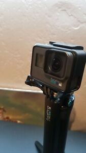 Used GoPro HERO6 Black w Included Battery+2 Additional Batteries + GoPro 3-Way