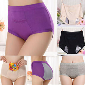 Physiological Panty Menstrual Period Leakproof Brief Pocket Underwear Women Lady