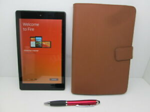 Amazon Fire HD 8 (7th Generation) 16GB Wi-Fi Tablet with Protective Case