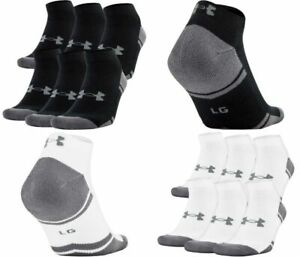 Under Armour U291 Men's UA Resistor III 3.0 Lo Cut 6 Pack Athletic Socks 1282432 $21.49
