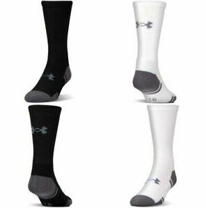 Under Armour U292 Men's UA Resistor III 3.0 Crew 6 Pack Athletic Socks 1282435 $21.49