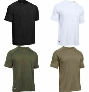 Under Armour 1005684 UA Tactical Tech Short Sleeve T Shirt Athletic Training Tee $22.49
