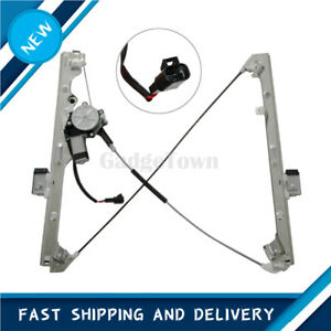 Front Passenger Right Door's Window Regulator  Motor fits 99 06 Chevy Silverado