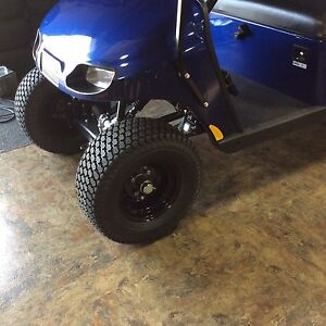 Set Of 4 RIMS &TIRES for golf Cart Brand new Ready Mount on 2 Inch Lifted EZGO